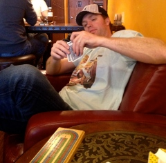 Back in the day (i.e. April) when we could spend a couple of hours playing cribbage in a cigar bar...sigh...