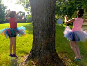Getting as much mileage as I can for these tutus!!!