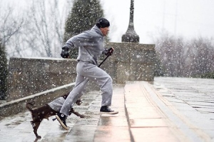 Soon to be Me and Sully...Minus the Snow